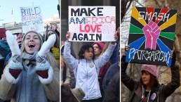 Mujeres contra Trump: crecen las protestas