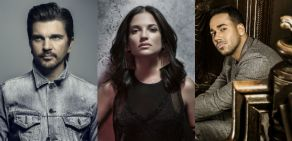 Romeo Santos, Natalia Jiménez y Juanes a la tarima de los Premios Billboard Latinos