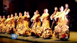 Artistas en la primera presentación del Flamenco Fest Miami