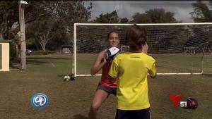 Cómo usar el fútbol para ponerse en forma con los hijos