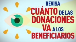 ¡Cuidado con las donaciones caritativas!