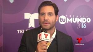 Edgar Ramírez envía un mensaje a los hispanos