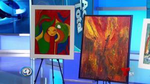 Exhibición de arte de Rosa Landaez