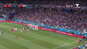 Inglaterra se va arriba con gol en el alargue