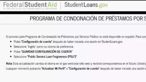 Perdón de deudas de préstamos universitarios