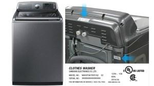 Advierten sobre riesgo con ciertas lavadoras Samsung