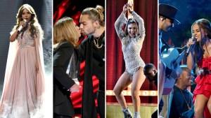 En fotos: los mejores momentos de los Latin AMAs 2018