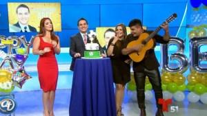 Sorpresa de cumpleaños a nuestro Abel Hernández