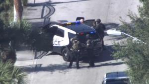 Disparos y supuesto atrincherado en North Miami Beach
