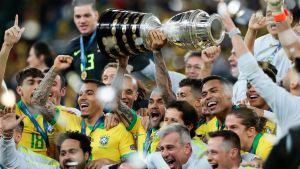 Brasil es el seleccionado con más títulos del mundo