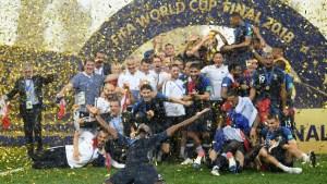 Francia le gana 4-2 a Croacia y es el campeón del mundo