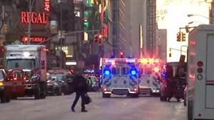 Times Square, víctima de un intento de ataque terrorista