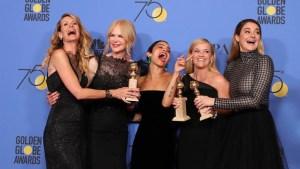 Las mujeres fueron las ganadoras en los Golden Globe