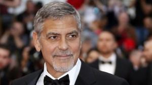 George Clooney se recupera tras accidente en moto