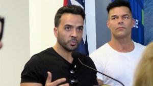 Fonsi se une a Ricky en campaña para reconstruir Puerto Rico