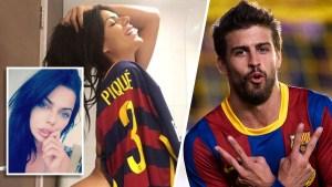 Modelo brasileña confiesa fantasías sexuales con Piqué