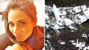 Copiloto muerta en accidente aéreo era mamá y modelo