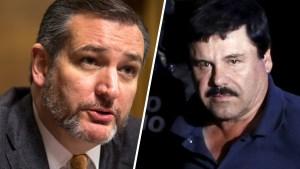 """Ted Cruz insiste: ahora """"El Chapo"""" debe pagar por el muro"""