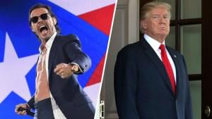 """""""Asqueroso"""", Marc Anthony estalla contra Trump"""