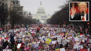 Trump insiste con tuits y así le responde a las marchas