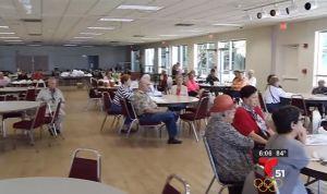 Cientos de ancianos se quedan sin almuerzo en Miami