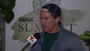 Antonio Banderas celebra el Miami Fashion Week Summit