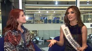 Miss Argentina revela detalles de su trabajo con Osmel Sousa