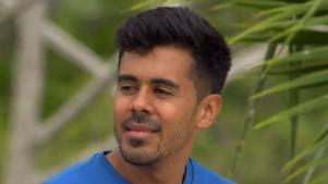 Novia y familiares apoyan a Jay Flores concursante de Exatlón