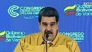 Maduro acusó a EEUU de quererlo matar