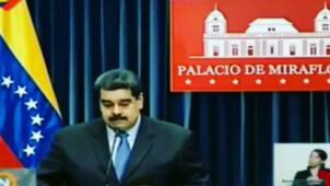 Maduro se enoja con pregunta de periodista sobre broma que le hicieron bomberos