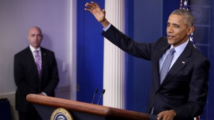 """Obama defiende a """"soñadores"""" en rueda de prensa final"""