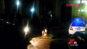 Protesta en La Habana por falta de vivienda