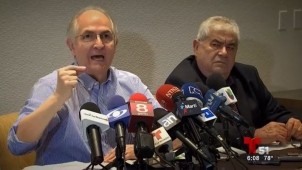 Ledezma promete acabar con gobierno de Maduro
