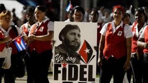 Entierran los restos de Fidel Castro en Santiago de Cuba
