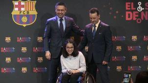 Refugiada siria con parálisis cerebral inspira al Barcelona