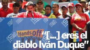 """Maduro rompe """"todas"""" las relaciones con Colombia"""