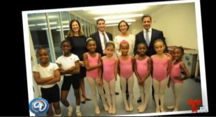 Autobús del ballet: Becas del ballet de Miami
