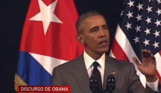 """Obama: """"El pueblo es el artífice del cambio"""""""