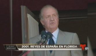 30 años, 30 historia: Reyes de España en Florida