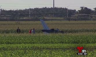 Una persona muerta tras estrellarse pequeño avión