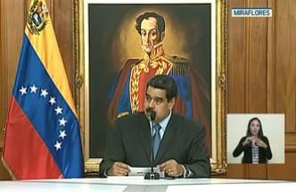 Maduro habla sobre supuesto atentado