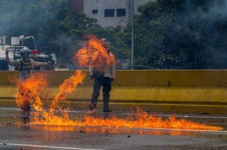 Ascienden a 29 los muertos por protestas en Venezuela