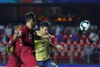 Lo mejor del primer tiempo del Colombia-Qatar