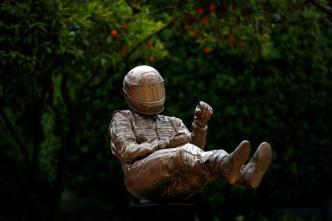 Triste tributo a Ayrton Senna para cumplir su sueño