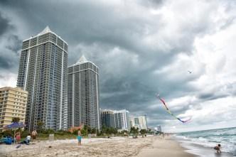 Alto riesgo de corriente de resaca en las playas