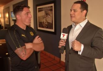 El Cebolla Rodríguez promueve el fútbol