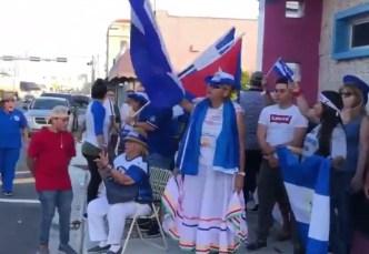 Nicaragüenses protestan en Miami contra Ortega