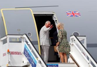 Termina la visita del príncipe Carlos y su esposa Camila a Cuba