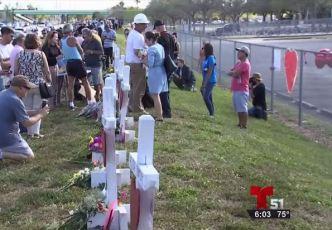 Continúan muestras de dolor por víctimas de Parkland