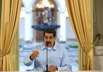 Maduro culpa a EEUU de bloqueo naval comercial y aéreo